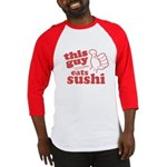 This Guy Eats Sushi Baseball Jersey