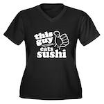 This Guy Eats Sushi Plus Size T-Shirt