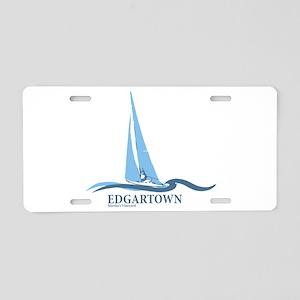Edgartown Aluminum License Plate