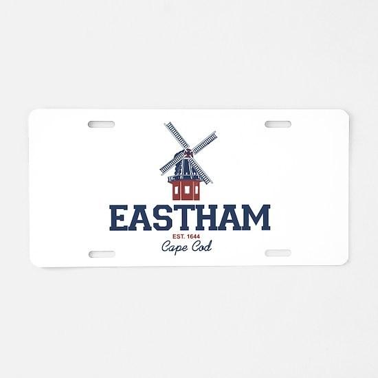 Eastham Aluminum License Plate