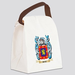 Benz Coat of Arms - Family Crest Canvas Lunch Bag
