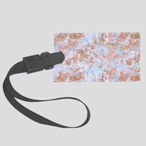Pastel Marble Large Luggage Tag