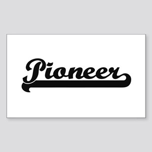 Pioneer Classic Retro Design Sticker