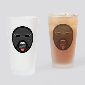 What Face Drinking Glass