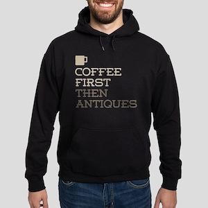 Coffee Then Antiques Hoodie (dark)