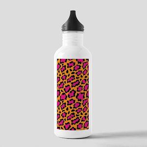 Wild Leopard Stainless Water Bottle 1.0L