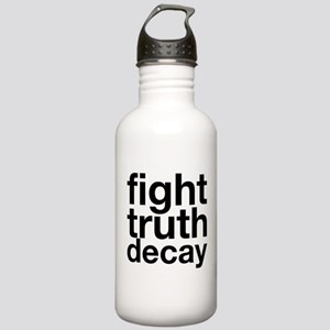 fight truth decay Water Bottle