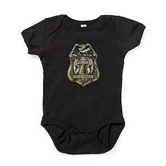Riverside Police Baby Bodysuit