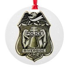 Riverside Police Ornament