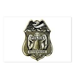 Riverside Police Postcards (Package of 8)
