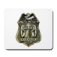 Riverside Police Mousepad