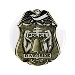 Riverside Police Button