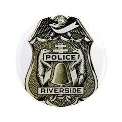 Riverside Police Button