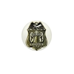 Riverside Police Mini Button (100 pack)