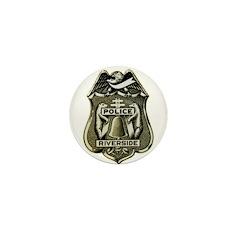 Riverside Police Mini Button (10 pack)