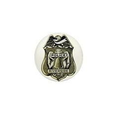 Riverside Police Mini Button