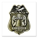 Riverside Police Square Car Magnet 3