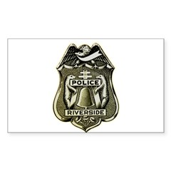 Riverside Police Decal