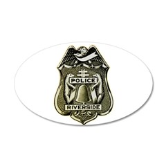 Riverside Police Wall Decal
