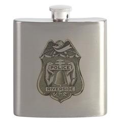 Riverside Police Flask