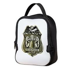Riverside Police Neoprene Lunch Bag