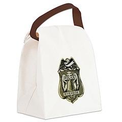 Riverside Police Canvas Lunch Bag