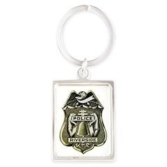 Riverside Police Keychains