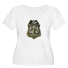 Riverside Police Plus Size T-Shirt