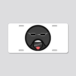 What Face Aluminum License Plate