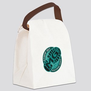 Stomp Out MG Inc Canvas Lunch Bag