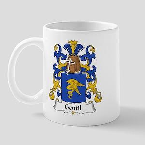 Gentil Family Crest Mug