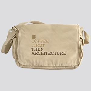 Coffee Then Architecture Messenger Bag