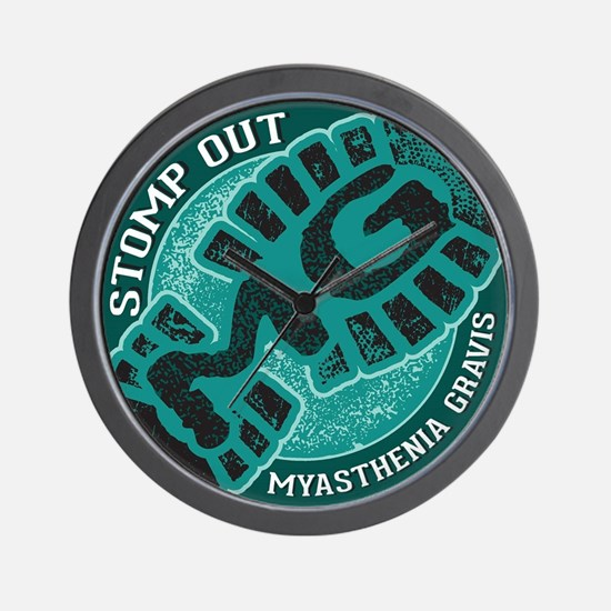 Stomp Out MG Inc Wall Clock
