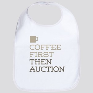Coffee Then Auction Bib