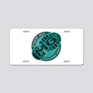 Stomp Out MG Inc Aluminum License Plate
