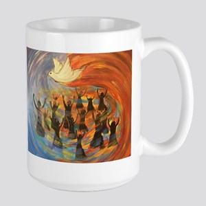 Wind & Fire of Pentecost Mugs
