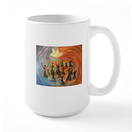 Wind & Fire of Pentecost Mugs