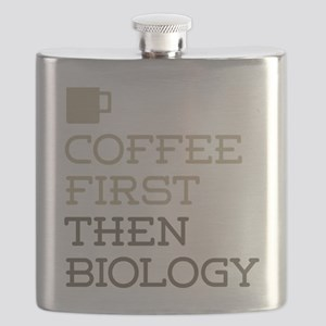 Coffee Then Biology Flask