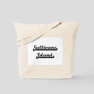 Sullivans Island Classic Retro Design Tote Bag