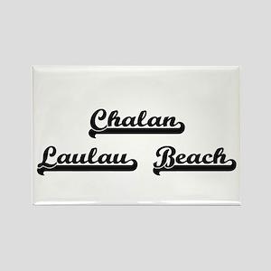 Chalan Laulau Beach Classic Retro Design Magnets