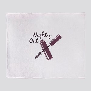 Night Out Throw Blanket