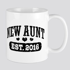 New Aunt Est. 2016 Mug