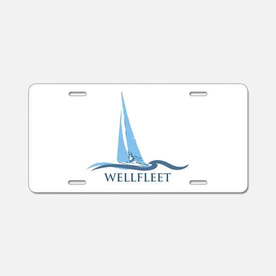 Wellfleet Aluminum License Plate