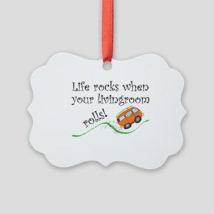 Life Rocks Ornament