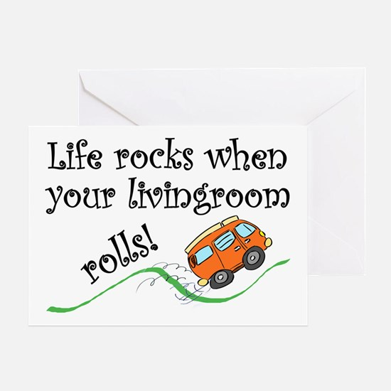Life Rocks Greeting Cards