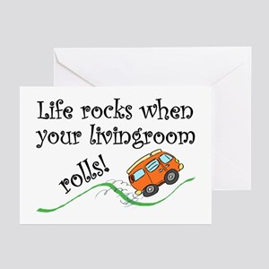 Life Rocks Greeting Cards