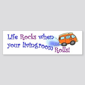 Life Rocks Bumper Sticker