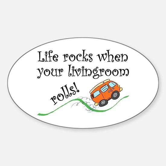 Life Rocks Decal