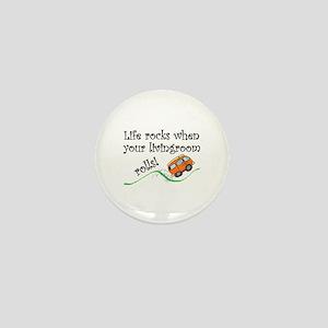 Life Rocks Mini Button