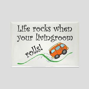Life Rocks Magnets